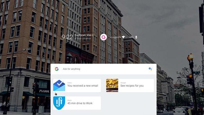 Google Fuchsia OS işletim sistemi demo