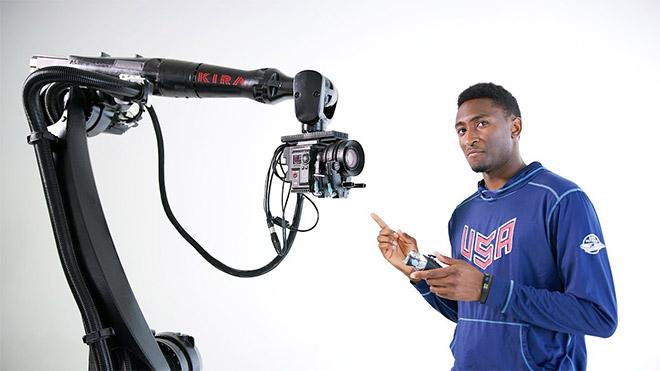Marques Brownlee kamera robotu
