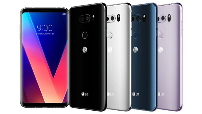 LG G7 ThinQ V40