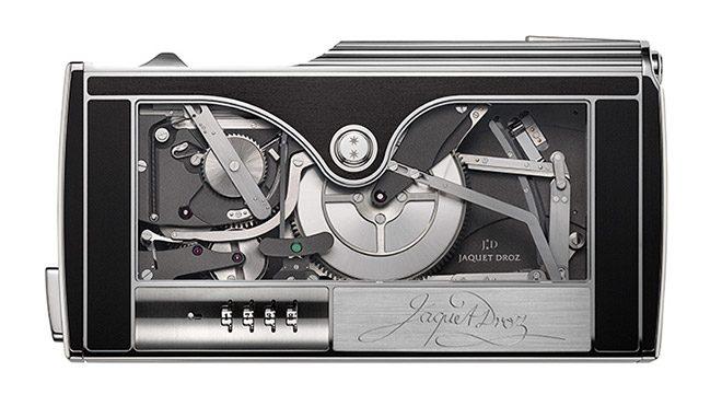 Jaquet Droz mekaniz imza makinesi