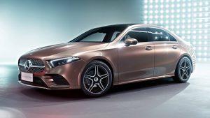 2018 Mercedes A-Serisi L Sedan