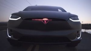 Tesla Model X KITT
