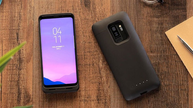 Samsung Galaxy S9 ve Galaxy S9+ Mophie juice pack