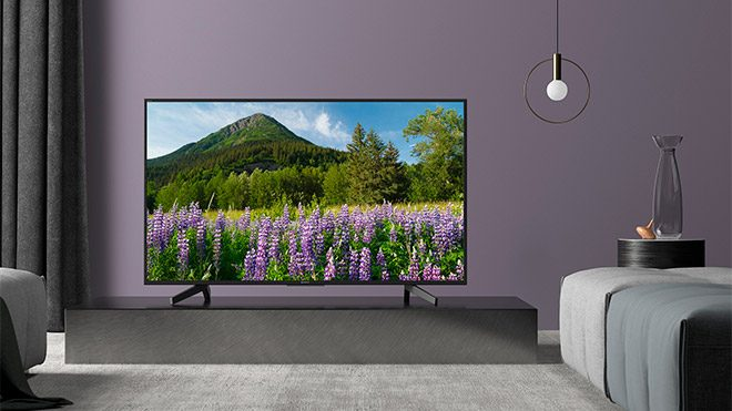 Sony 4K HDR TV 2018 XF83 ve XF70