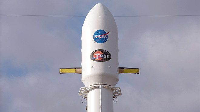 SpaceX NASA TESS