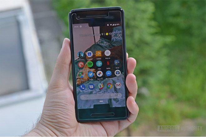 Android P çift çentik