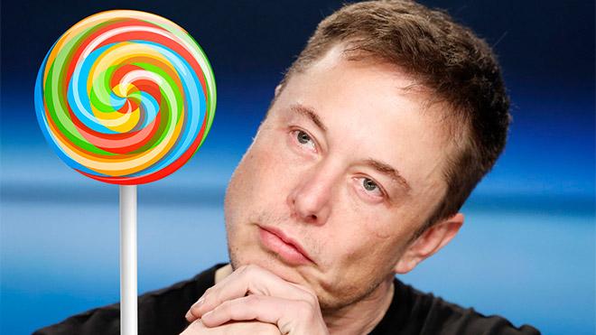 Elon Musk şekerleme