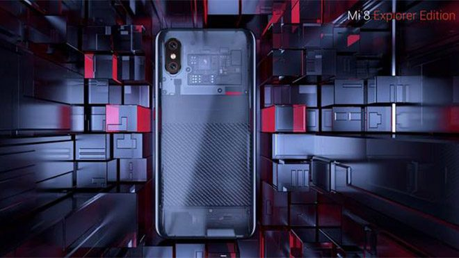 Xiaomi Mi 8 Mi 8 Explorer Edition