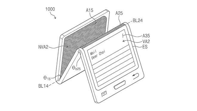 Samsung Galaxy X katlanabilir akıllı telefon
