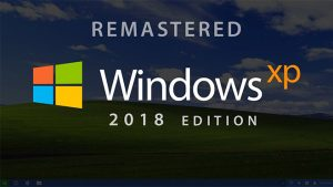 Windows XP 2018 Edition konsepti