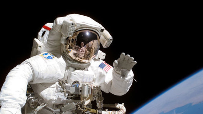 NASA uzay yürüyüşü ISS GoPro