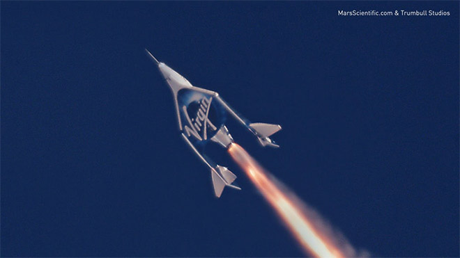 Virgin Galactic SpaceShipTwo VSS Unity