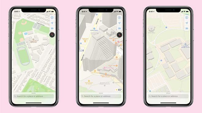 Apple Harita Haritalar
