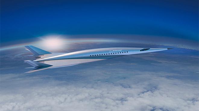 Boeing hipersonik uçak