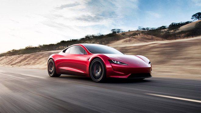 Tesla Roadster Elon Musk