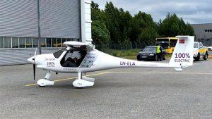 Norveç elektrikli uçak