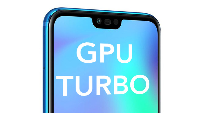 Huawei Honor GPU Turbo