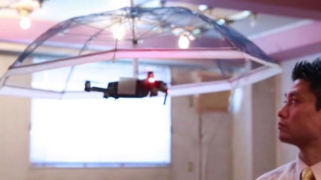 Drone şemsiye