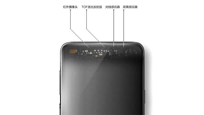 Vivo NEX S NEX A TOF 3D camera