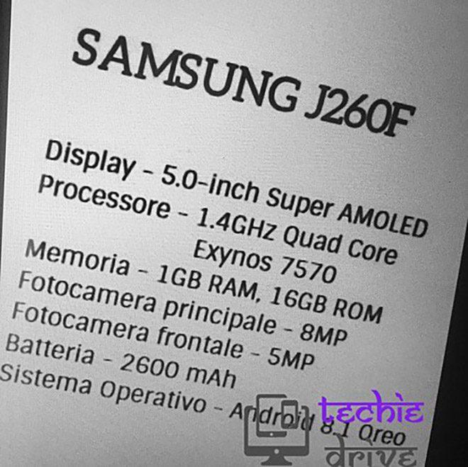 Samsung Galaxy Android Go