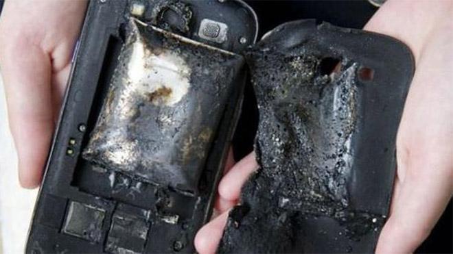 akıllı telefon patlama