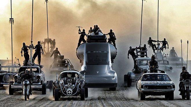 Tesla Mad Max