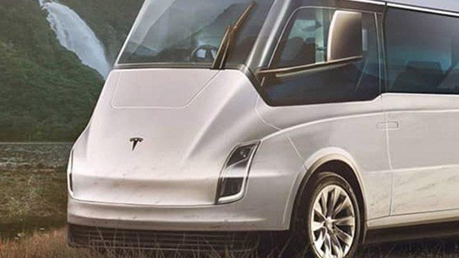 Tesla tekerlekli ev
