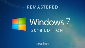 Microsoft Windows 7 2018 Edition