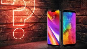 LG G7 ThinQ veya LG Q7+