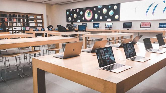 Apple Store hırsızlık