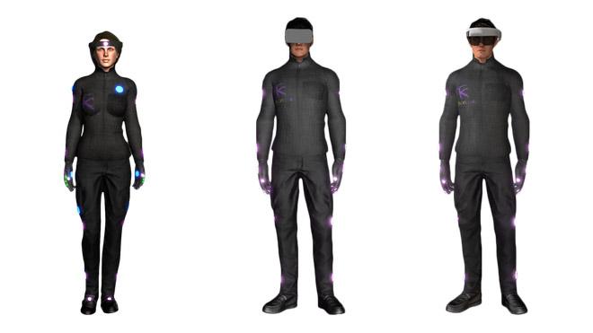 HoloSuit sanal gerçeklik