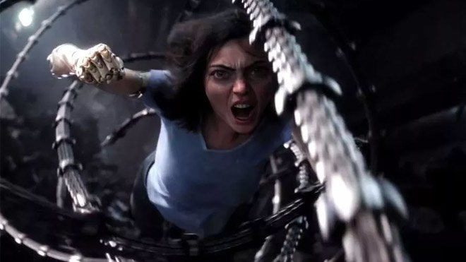 James Cameron Alita: Battle Angel