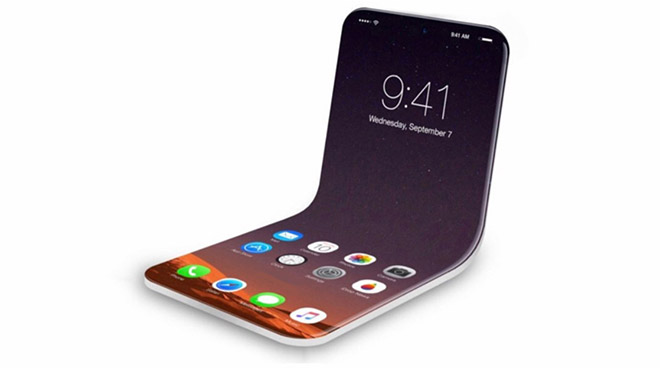 Katlanabilir akıllı telefon Apple katlanabilir iphone