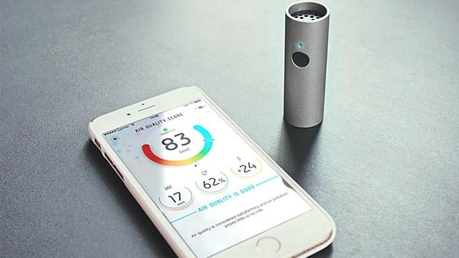İç ve dış mekanda hava kalitesini ölçen mini cihaz [Video]