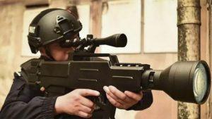 Çin lazer silahı