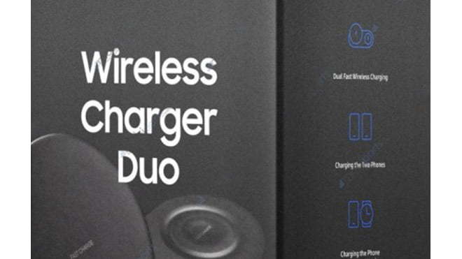 Samsung Galaxy Note 9 ve Wireless Charger Duo ve Galaxy Watch ve