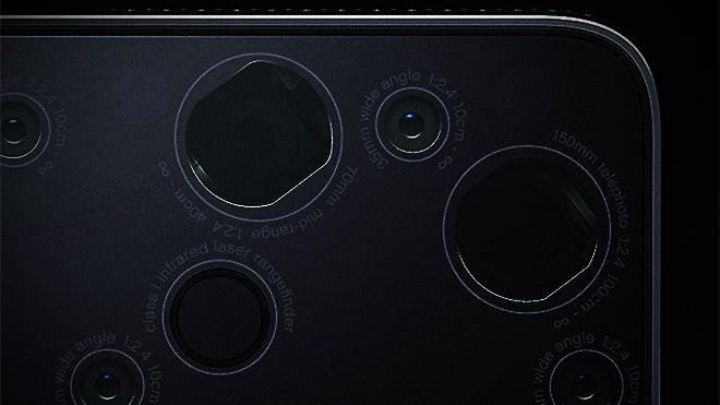 Light 9 kameralı akıllı telefon