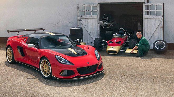 Lotus Exige Type 49