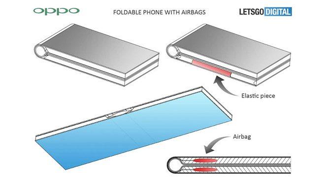 Oppo katlanabilir akıllı telefon