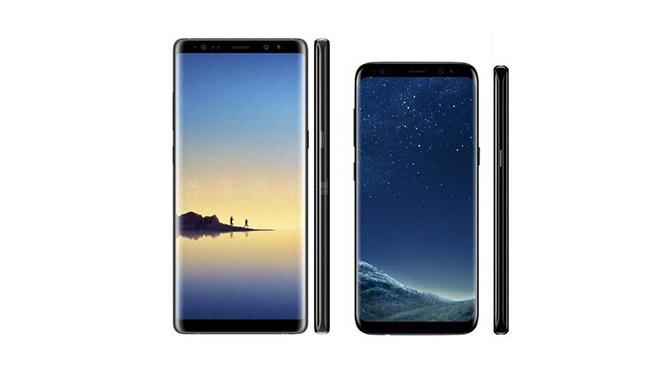 Samsung Galaxy Note 8 Galaxy S8 Galaxy S9