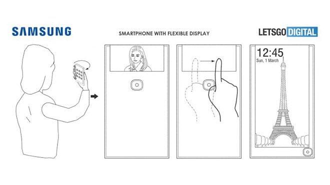 Samsung akıllı telefon patent