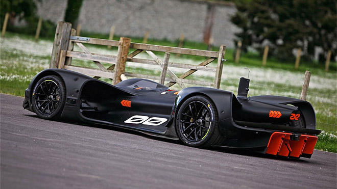 Roborace Robocar Goodwood
