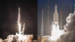 SpaceX ve Arianespace
