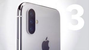 Üç arka kameralı iPhone Apple
