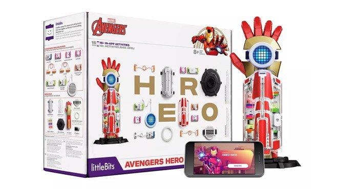 LittleBits Avengers Hero Inventor Kit Iron Man