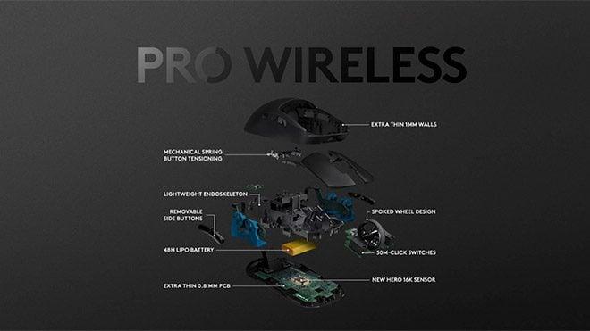 Logitech G PRO Wireless fare
