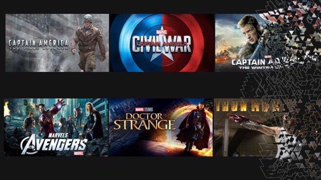 Disney Marvel Netflix