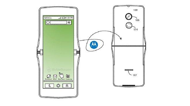 Motorola RAZR katlanabilir akıllı telefon