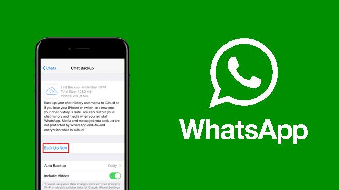 Whatsapp yedeklerini geri yükleme