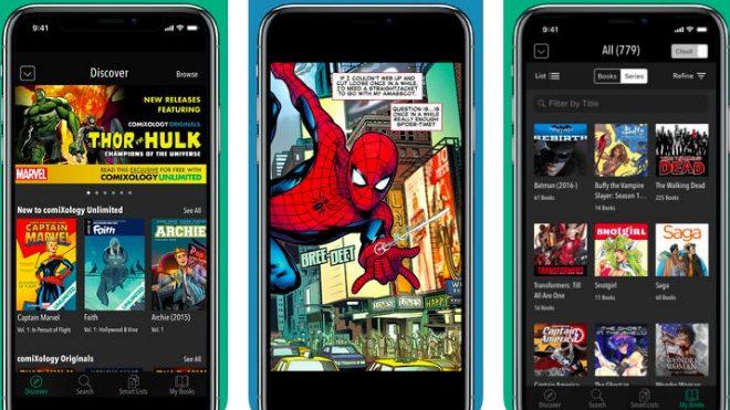 Akıllı Telefonlarda çizgi Roman Okuyabileceğiniz Enfes Uygulamalar Log